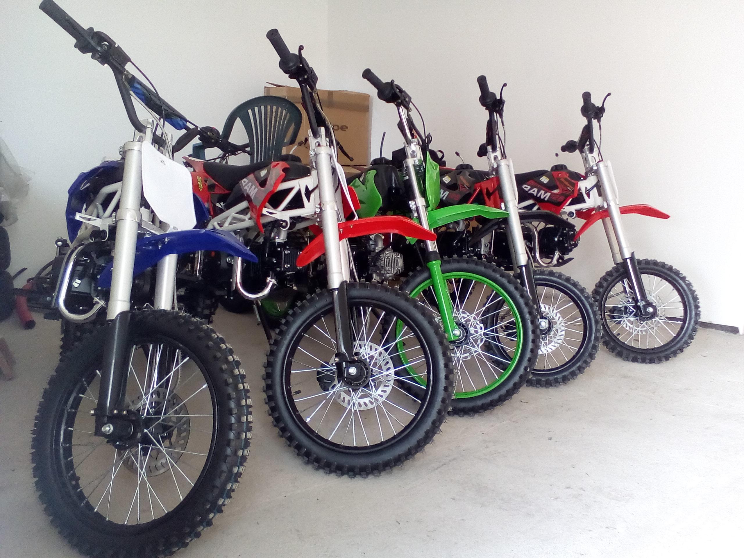 Garanční prohlídky pitbike - FAQ