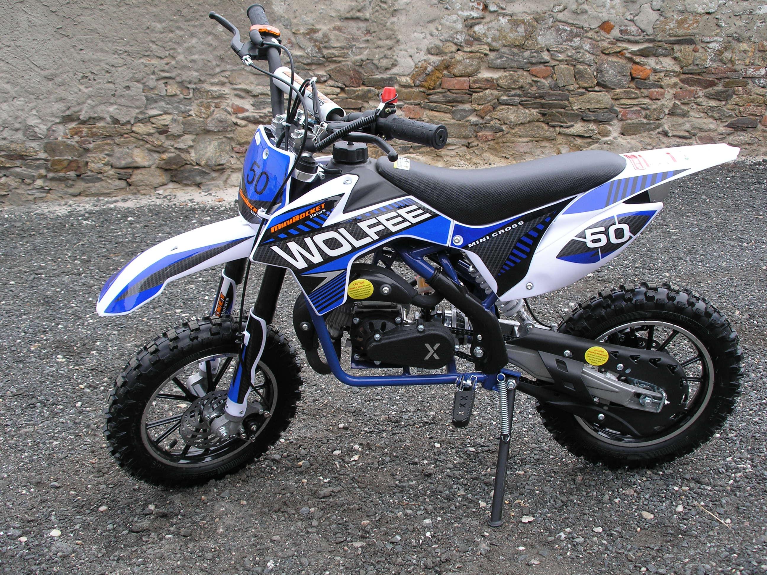 Výběr dětské minicross, případně minibike