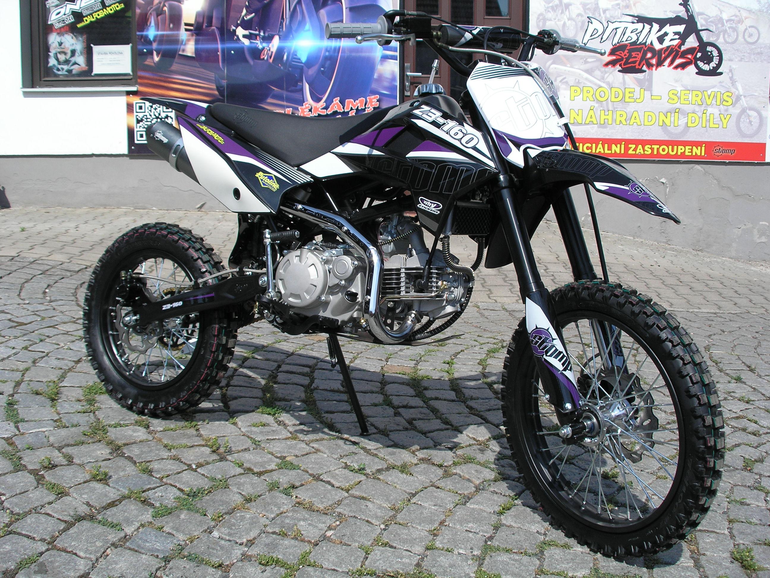 Recenze pitbike Stomp Z3-160
