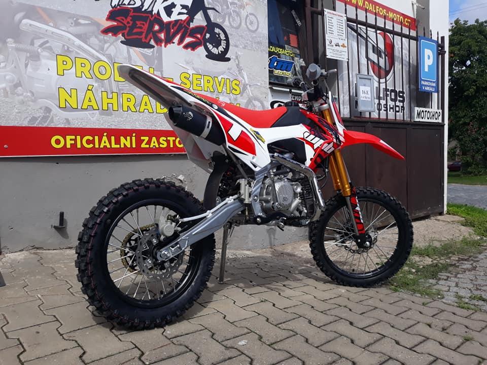 Recenze pitbike WPB Race 190