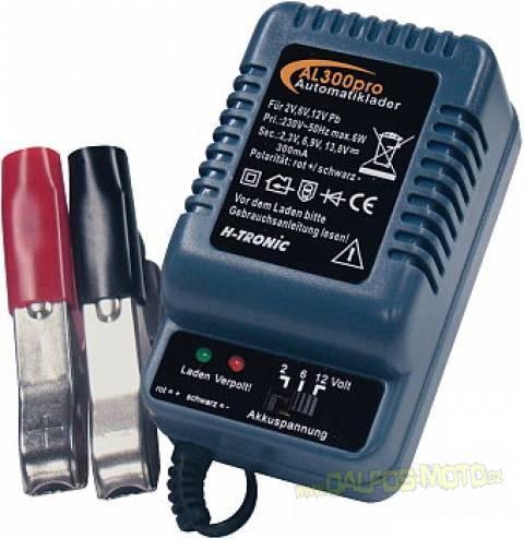 Nabíječka H-TRONIC i pro gelové akumulátory 300 mA