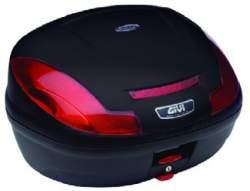 E 470N Simply kufr GIVI černý Monolock s vlastní plotnou)