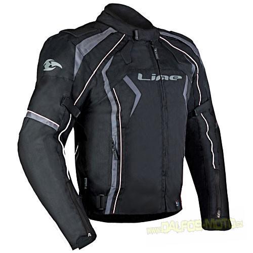 MBW NEO black - pánská textilní moto bunda