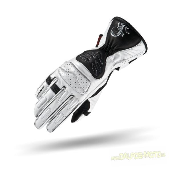 Dámské rukavice na moto SHIMA CALDERA MFI+, bílé