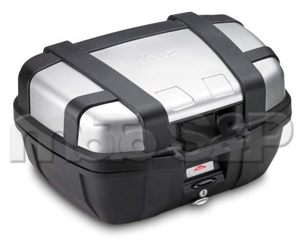 TRK 52N kufr GIVI Trekker černý s hliníkovým víkem (Monokey), objem 52 ltr.