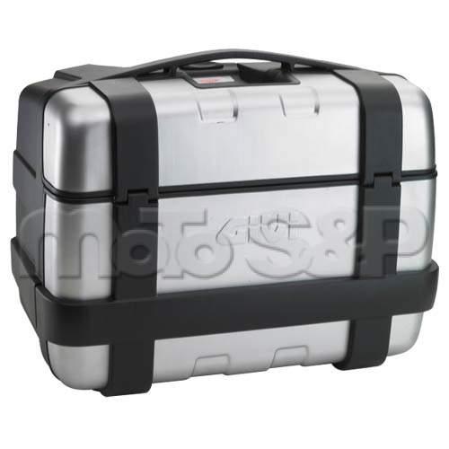 TRK 46N kufr GIVI Trekker černý s hliníkovým víkem Monokey), objem 46 ltr.