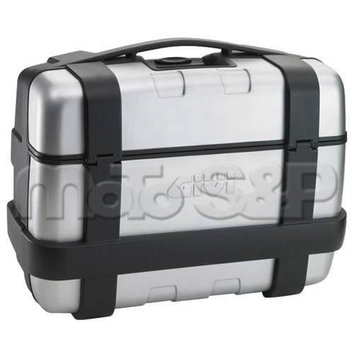 TRK 33N kufr GIVI Trekker černý s hliníkovým víkem (Monokey), objem 33 ltr.