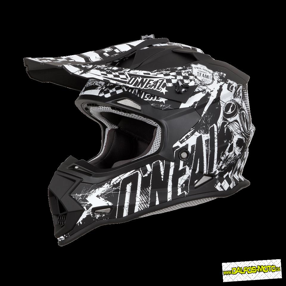 Oneal dětská helma Rider černá 6f7adb2b10