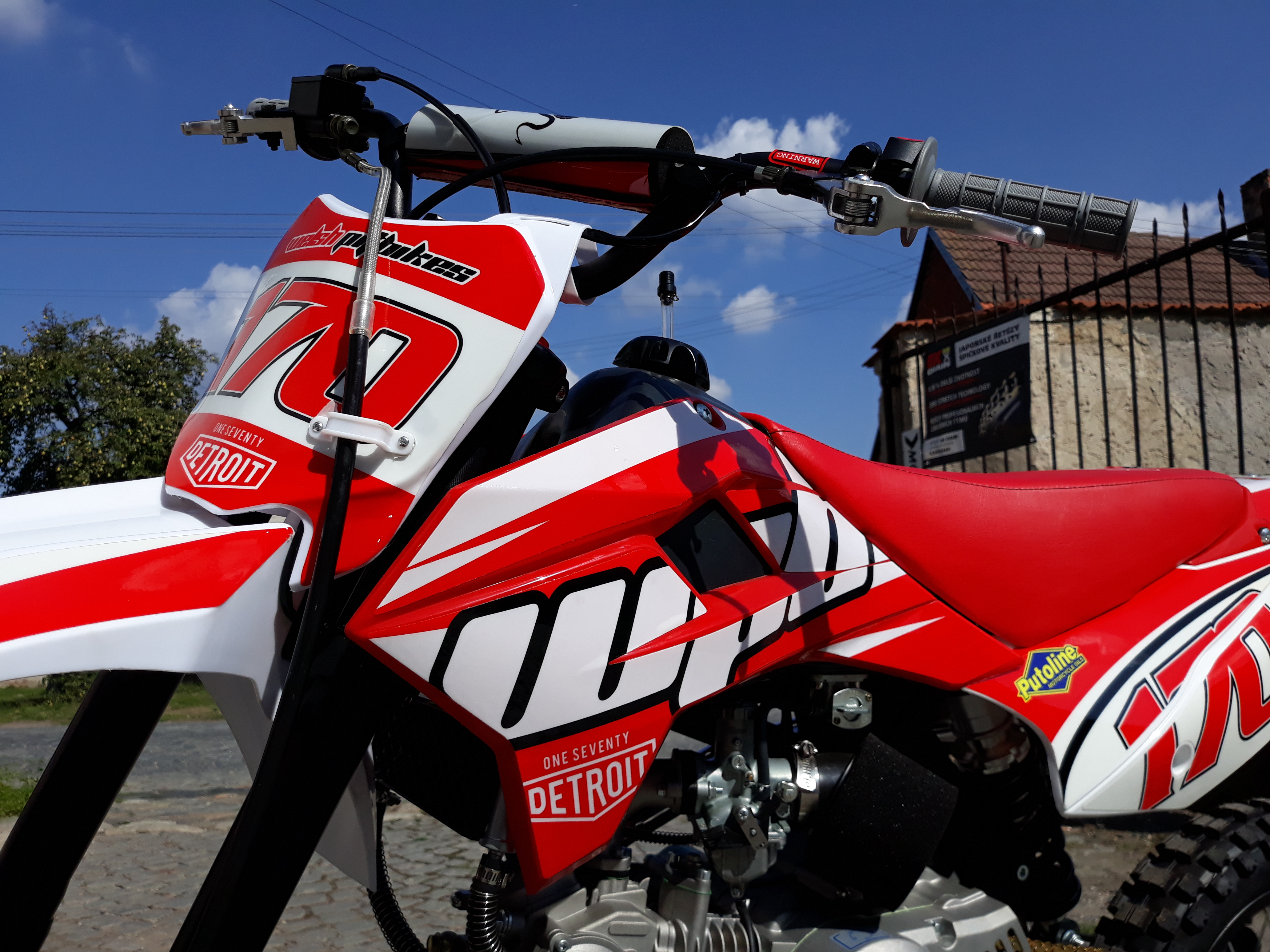 wpb pitbike 170