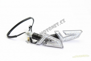 LED miniblinkry AERO Matt black