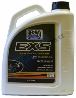 Bel-Ray 4T 15W-50 4l Motorový olej EXS Full Synthetic Ester