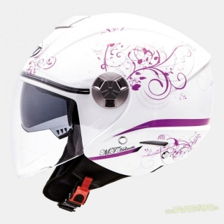 MT CITY ELEVEN BELLA WHITE/PURPLE