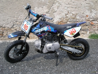 Pitbike Stomp Juicebox 90 el.start,