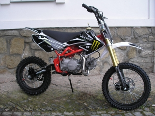 Pitbike MonsterSport 125ccm, 17x14