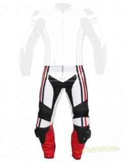 Pánské kalhoty Tschul 555 bílo-černo-červená e0599c7bd7