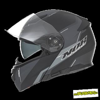 69e639f1692 NOX vyklápěcí helma N965 Score Noir