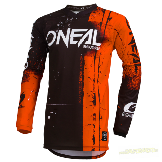 ONeal Element dres Shred oranžový