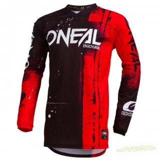 ONeal Element dres Shred červený