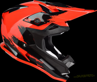 Lazer MX helma LZR OR-1 Ripped Red