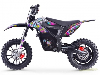 Pitbike Stomp Wired Splatter elektro