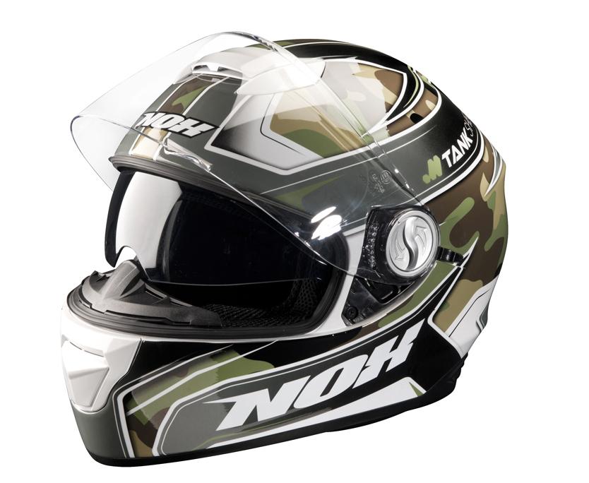 Moto helma NOX N301 Tank