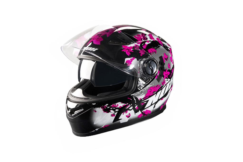 Moto helma NOX N917 Cherry